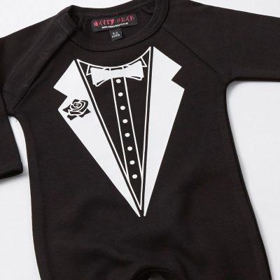 Buy Spoilt Rotten - Tuxedo Baby Babygrow in Milk Carton from our All In Ones range at Tesco direct. We stock a great range of products at everyday prices. Clubcard points on every order.