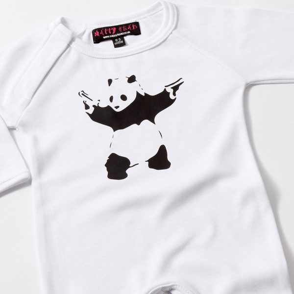 Banksy Baby Grow