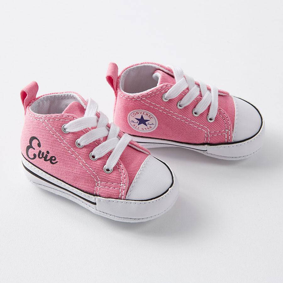35d18baf96dc52 ... infant high top black converse australia b6bae 8f8a9  denmark custom  baby converse 513dc cb26c
