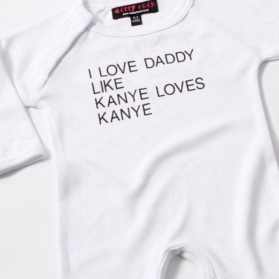 kanye baby grow