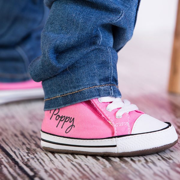 personalised baby converse