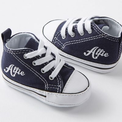 personalised baby converse sneakers