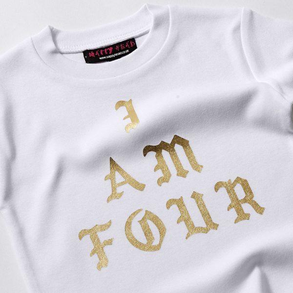 I am 4 t-shirt