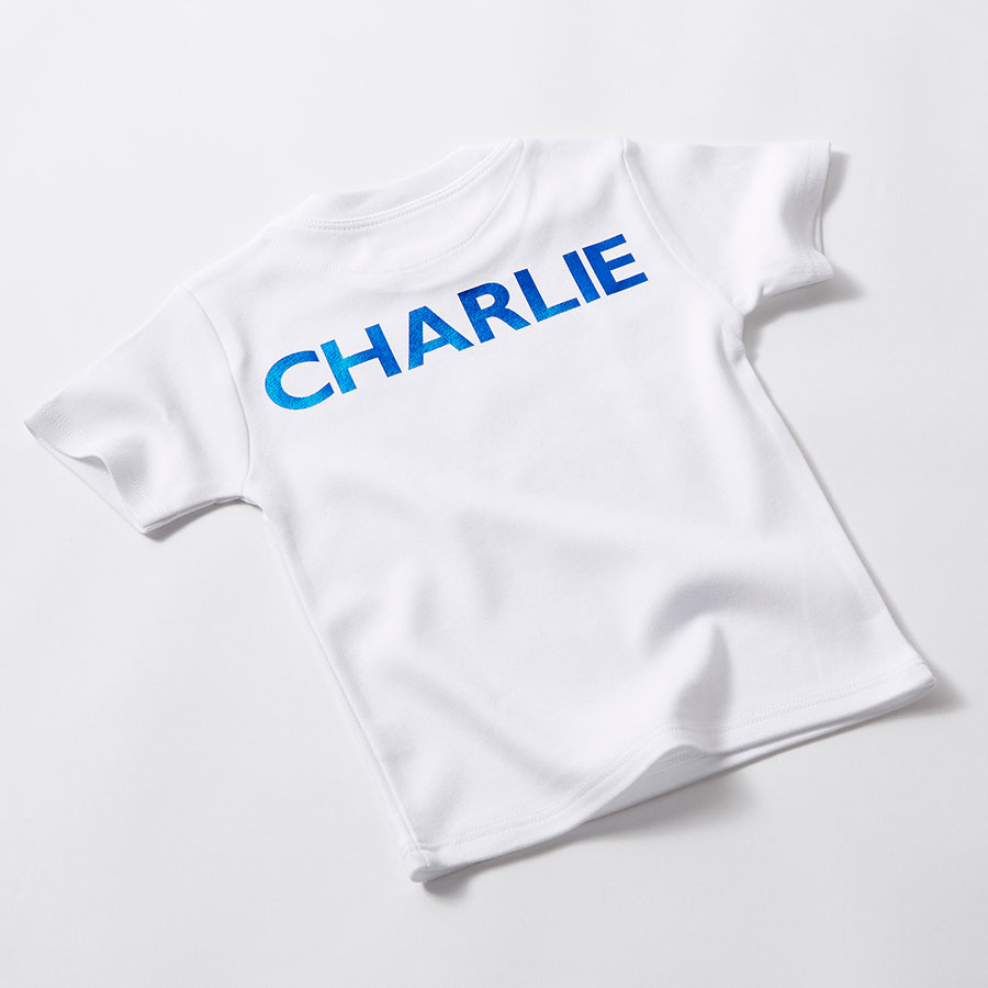 Personalised Birthday T Shirt First