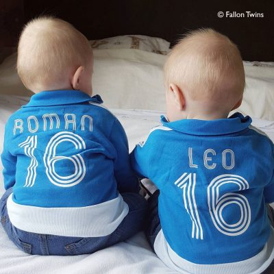 Personalised Twins Clothes