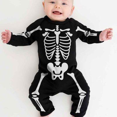 Skeleton Babygrow