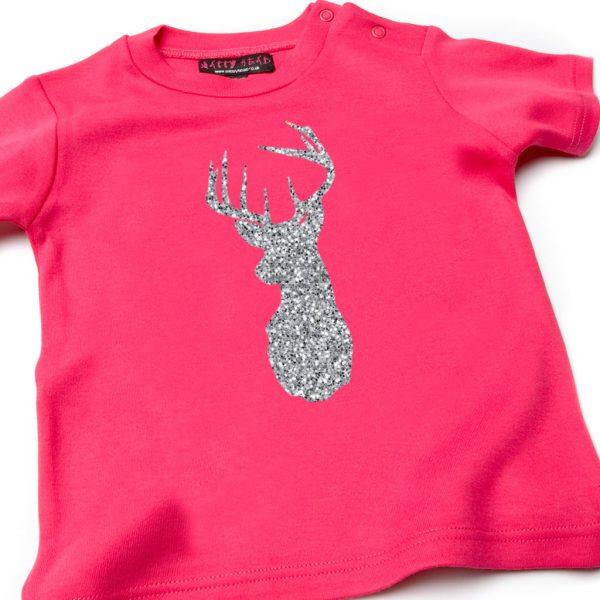 Pink Christmas T-shirt