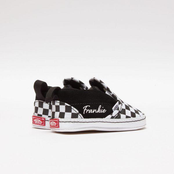 personalised-baby-shoes-black-vans