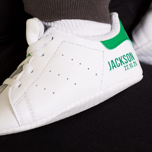 personalised adidas baby trainers