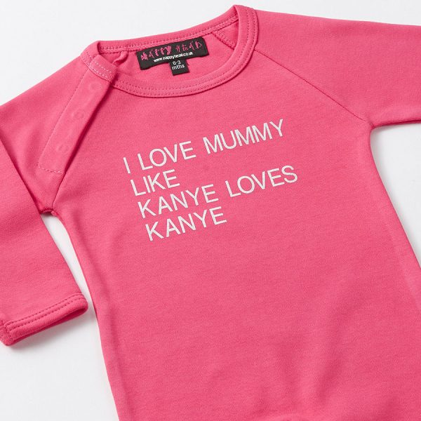kanye cool baby grows