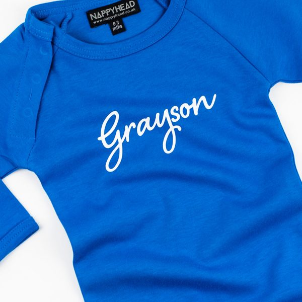Script-Personalised-Baby-Grow