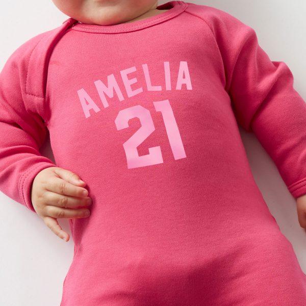 pink-personalised-babygrow