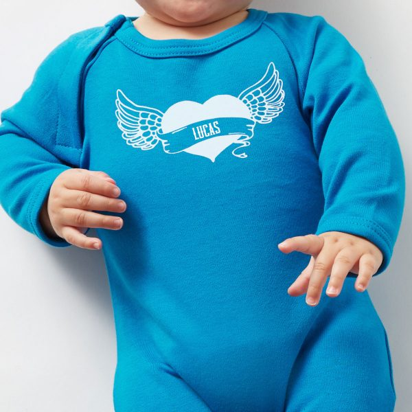 personalised-baby-grow-with-heart-tattoo-blue